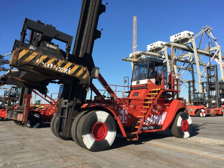 2004 Diesel Fantuzzi FDC500 G5 Container Handlers (Loaded/Empty)
