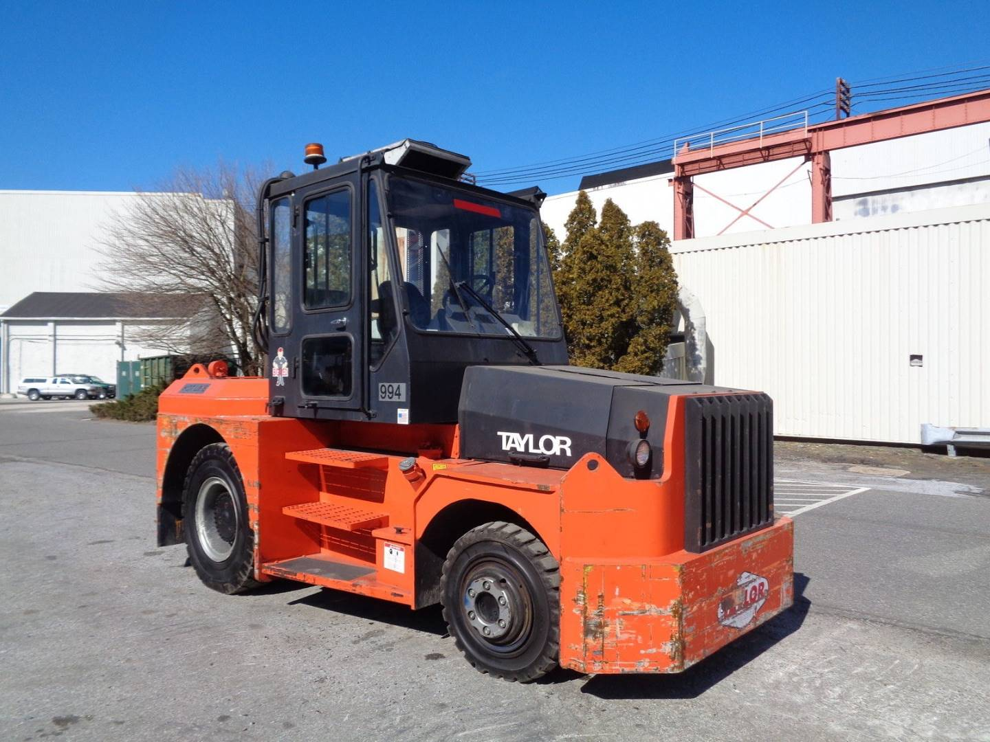 Diesel Operated Tow Tractor : Diesel taylor tt tow tractor